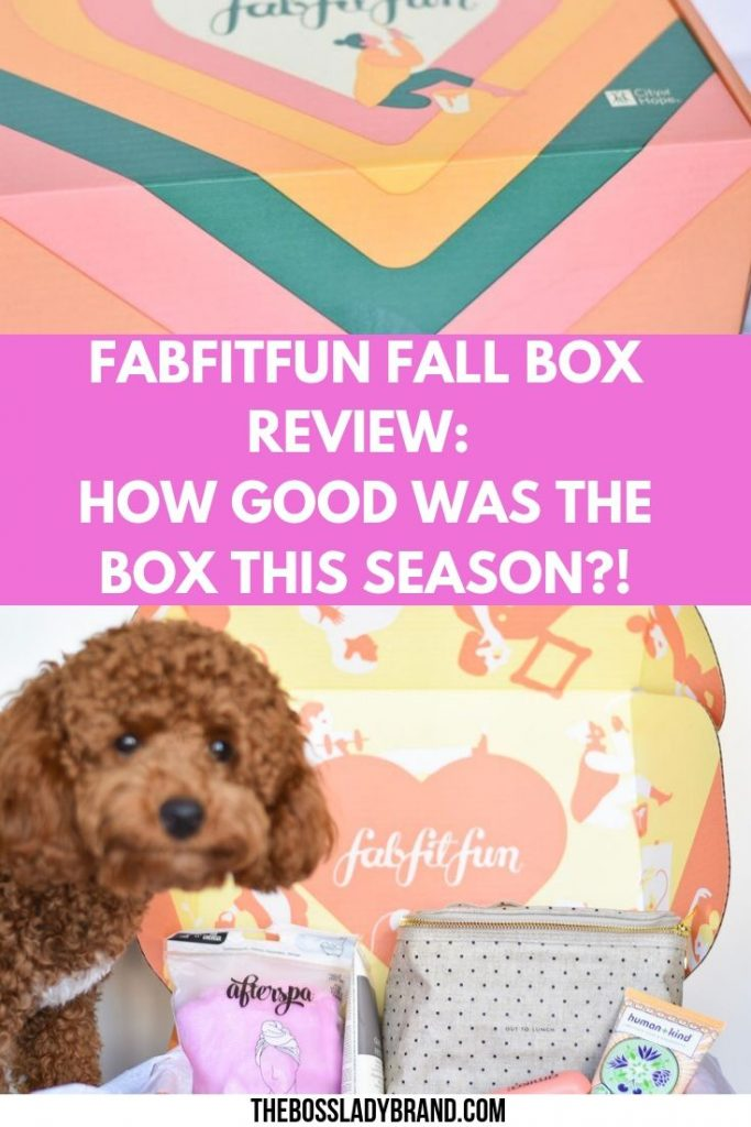 The FabFitFun Fall Box is finally here! Here is a review of the goodies that I ended up getting this season and a coupon for $10 off!