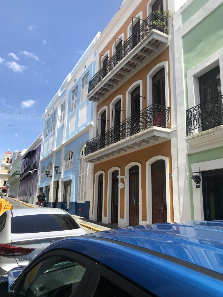 Colorful Streets Old San Juan