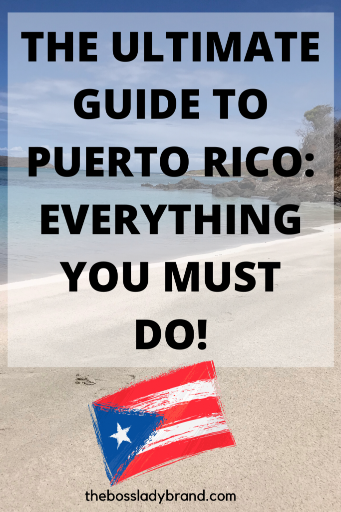The Ultimate Guide to Puerto Rico: Everything You Should do! Here is a good list of things You should add to your travel Intinerary!