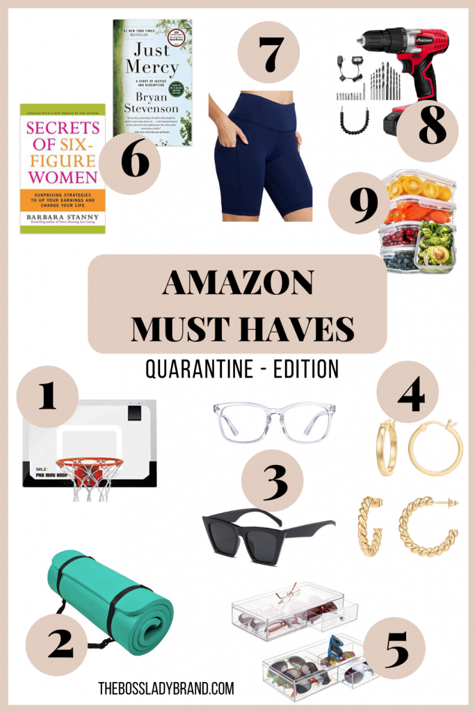 These are my Amazon Must Haves but Quarantine Edition! These are all random items that can change your life that you need! #amazonessentials #amazonmusthaves